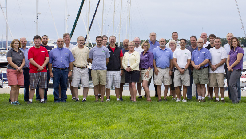 Irish Boat Shop Harbor Springs Crew