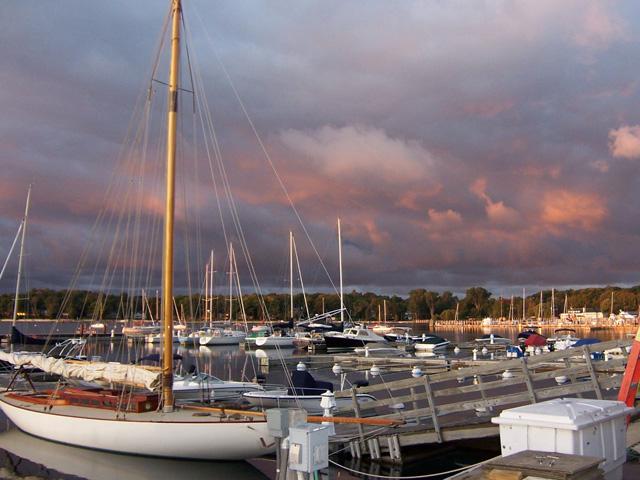Irish Boat Dockage Harbor Springs Michigan